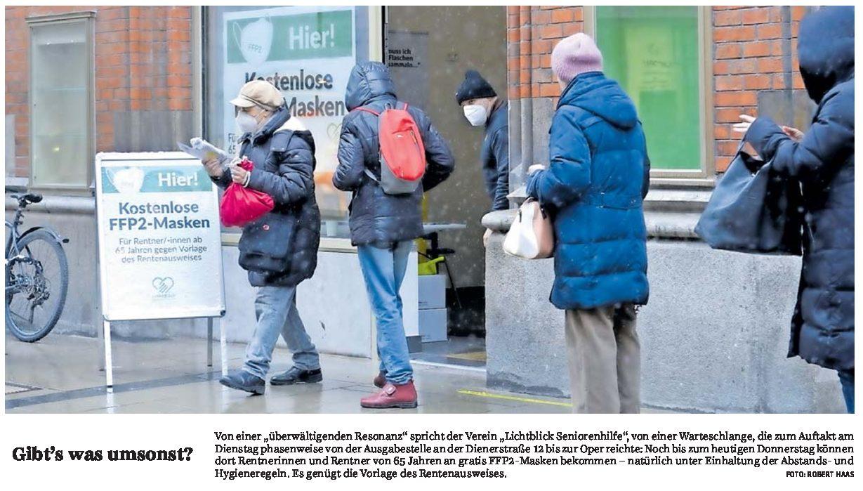 12.02.2021 | Süddeutsche Zeitung | Gibt's was umsonst?
