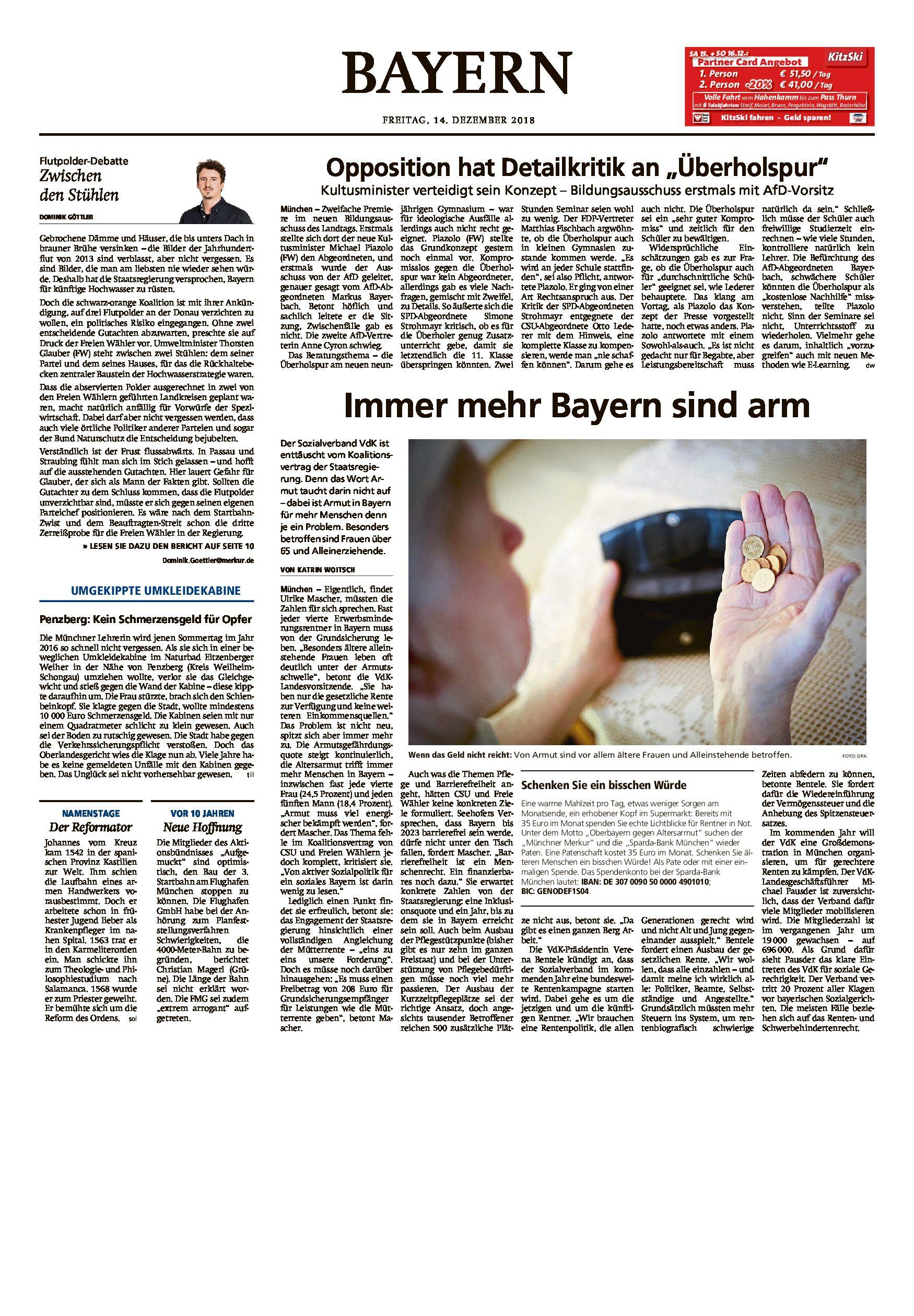 14.12.2018   MM   Immer mehr Bayern sind arm