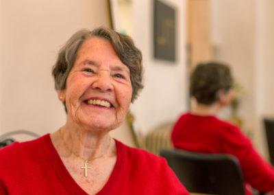 Frisörbesuch für arme Rentner