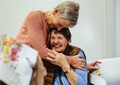Veranstaltungen für arme Senioren