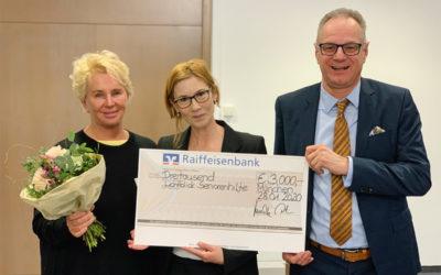Förderpreis der Raiffeisenbank München-Süd: LichtBlick belegt ersten Platz