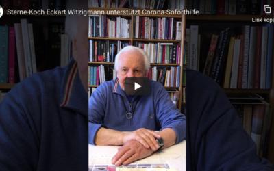 Sterne-Koch Eckart Witzigmann unterstützt Corona-Soforthilfe