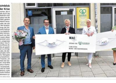 29.05.2020 | Münchner Merkur | Ein Lichtblick in der Krise