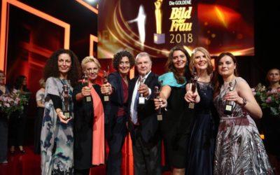 LichtBlick-Gründerin Lydia Staltner ist Preisträgerin der GOLDENEN BILD der FRAU 2018