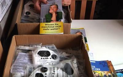 Kostenlose Masken für alle Senioren in Erding!