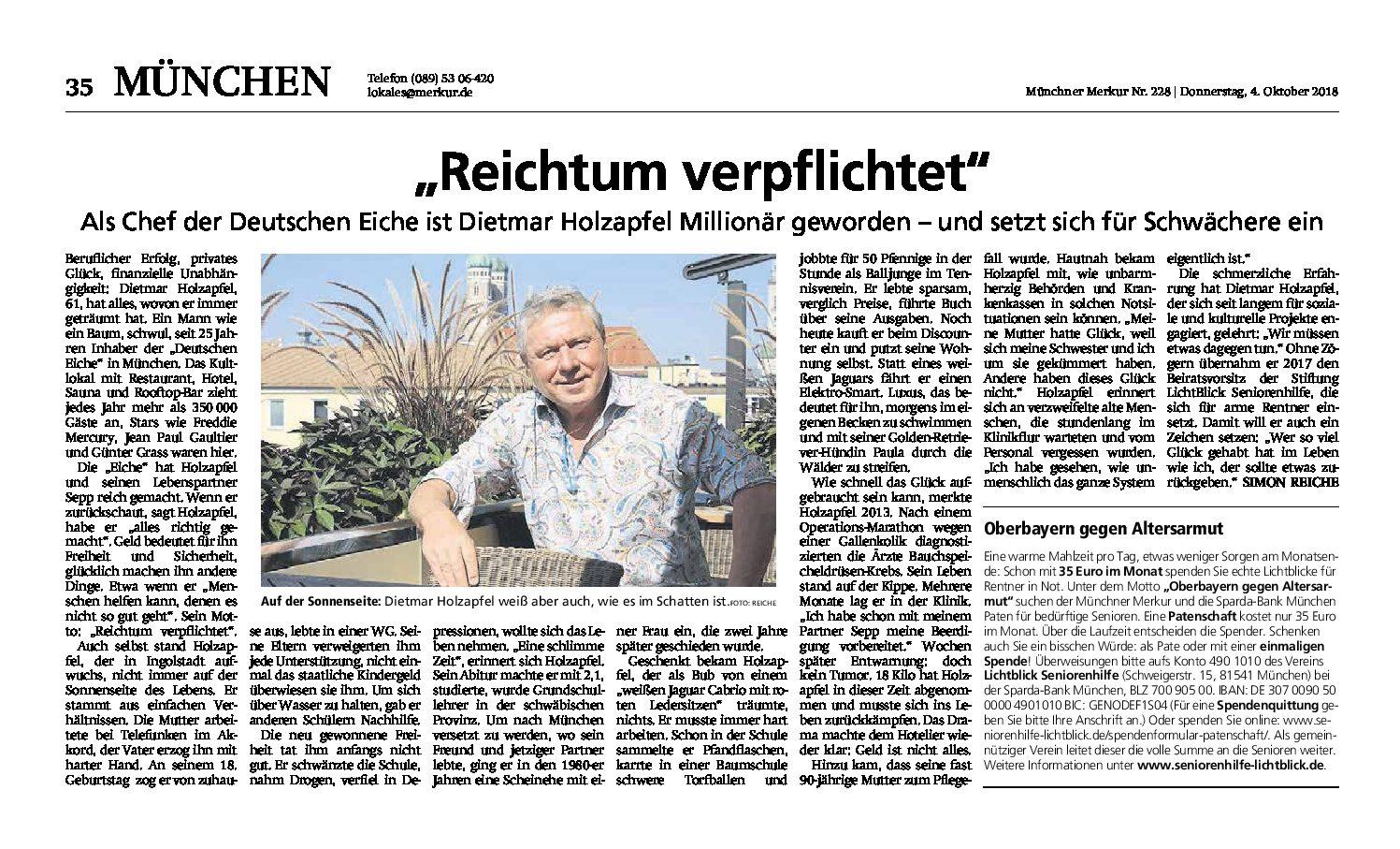 04.10.2018 | MM | Reichtum verpflichtet